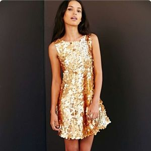 SOLD OUT!!! Urban Renewal Metallic Paillette Dress